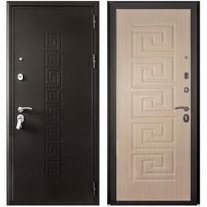 Входная металлическая дверь Кондор Греция (Венге светлый)
