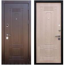 Входная металлическая дверь Кондор Мадрид (Беленый Дуб)