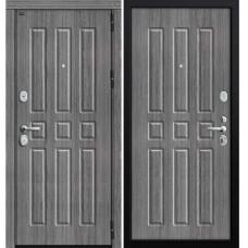 Входная металлическая дверь Groff Р3-303 (Серый Дуб)