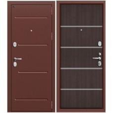 Входная металлическая дверь Groff Т2-204 (Венге кроскут)