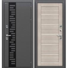 Входная металлическая дверь Браво Оптим Термо 222 (Cappuccino Veralinga)