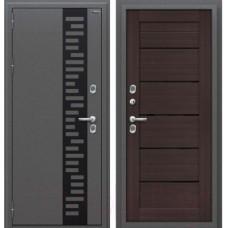 Входная металлическая дверь Браво Оптим Термо 222 (Wenge Veralinga)