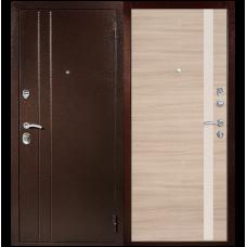 Входная металлическая дверь Юркас T6 (Капучино)