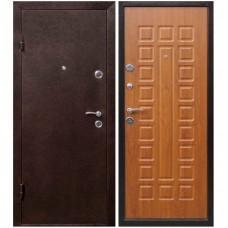 Входная металлическая дверь Юркас Йошкар (Золотистый дуб)