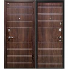 Входная металлическая дверь Юркас М-1 (Темный орех)