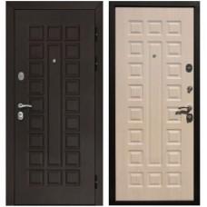 Входная стальная дверь Армада Сенатор (Венге / Беленый дуб)