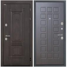 Входная стальная дверь Интекрон Италия ФЛ-183 (Венге)