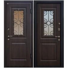 Входная металлическая дверь Юркас М-32 (Венге)