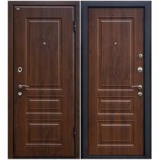 Входная металлическая дверь Юркас М11 (Темный орех)