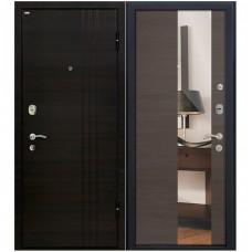 Входная металлическая дверь Юркас М15 с зеркалом (Грей кроскут)