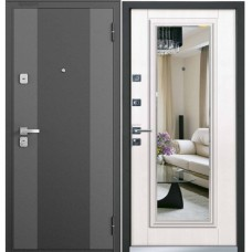 Входная металлическая дверь Бульдорс 44 T NEW (Лиственница бежевая)
