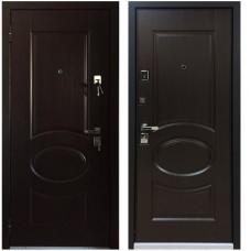 Входная металлическая дверь Бульдорс 45 (Лиственница шоколад)