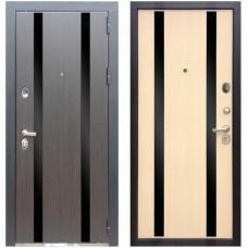 Входная металлическая дверь Zetta Премьер 100 Венге / Беленый Дуб