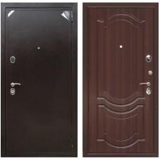 Входная металлическая дверь Зетта Евро 2 Б2 Грация (Орех тёмный)