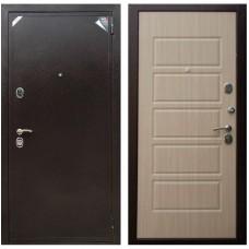 Входная металлическая дверь Зетта Евро 2 Б2 Домино (Венге белёный)