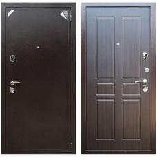 Входная металлическая дверь Зетта Евро 2 Б2 Параллель (Венге)