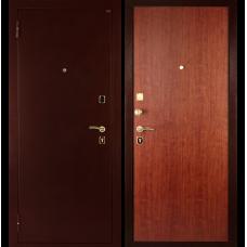 Входная металлическая дверь Дива МД-01 (Антик медь/орех итальянский)
