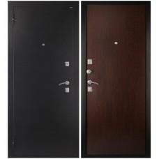 Входная металлическая дверь Дива МД-01 (Антик серебро/венге)