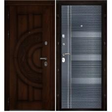 Входная металлическая дверь Атлант (Дуб/Карбон)