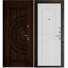 Входная металлическая дверь Атлант Анастасия (Дуб/Белый ясень)