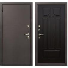 Входная металлическая дверь Лекс 1А Медный Антик (№32 Венге)