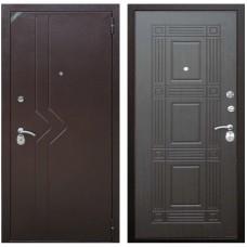 Входная металлическая дверь Зетта Комфорт 2 Д1 Бастион (Венге)
