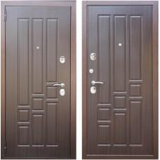 Входная металлическая дверь Зетта Комфорт 3 Б1 Тритон (Венге/Венге)