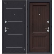 Входная металлическая дверь Браво Оптим Класс (Wenge Veralinga)
