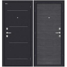 Входная металлическая дверь Браво Оптим кобра (Black wood)