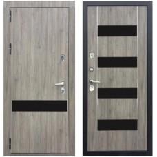 Входная металлическая дверь Зетта Премьер 100 (Дуб Серый)