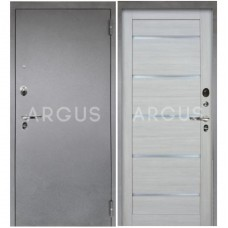 Входная металлическая дверь Аргус 1_Люкс Про Александра буксус/Серебро антик