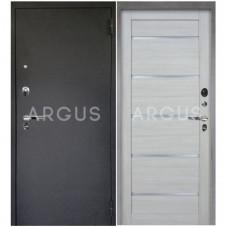 Входная металлическая дверь Аргус 1_Люкс Про Александра буксус/Черный шелк
