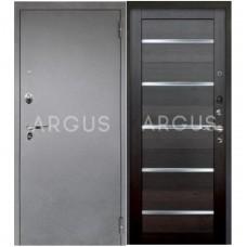 Входная металлическая дверь Аргус 1_Люкс Про Александра вельвет/Серебро антик