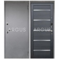 Входная металлическая дверь Аргус 1_Люкс Про Александра лунная ночь/Серебро антик