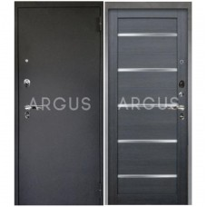 Входная металлическая дверь Аргус 1_Люкс Про Александра лунная ночь/Черный шелк