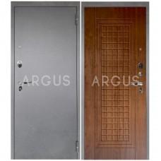 Входная металлическая дверь Аргус 1_Люкс Про Альма дуб золотой/Серебро антик