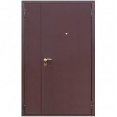 Входная металлическая дверь АСД Двухстворчатая (Итальянский орех)