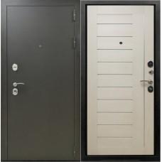 Входная металлическая дверь Снедо Бордо 3К (Эш вайт)