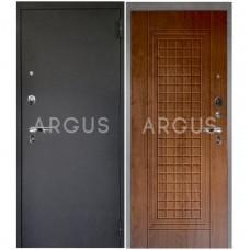 Входная металлическая дверь Аргус 1_Люкс Про Альма дуб золотой/Черный шелк
