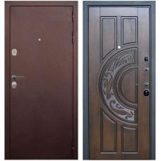 Входная металлическая дверь Голиаф Персей (Антик медь/Golden Патина)
