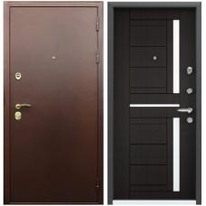 Входная металлическая дверь Голиаф Персей (Антик медь/алмон 28)