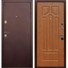 Входная металлическая дверь Голиаф Персей (Антик медь/береза мореная ФЛ-26)