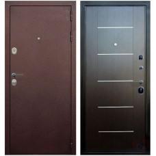 Входная металлическая дверь Голиаф Персей (Антик медь/венге с молдингом)