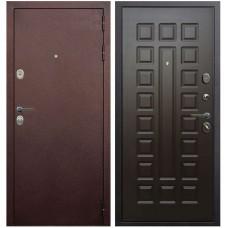 Входная металлическая дверь Голиаф Персей (Антик медь/венге ФЛ-21)