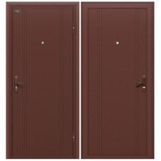Входная металлическая дверь Браво Door Out 101 (Антик Медь)