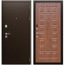 Входная металлическая дверь АСД Спартак (Орех темный)