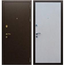Входная металлическая дверь АСД Стандарт (Беленый дуб)