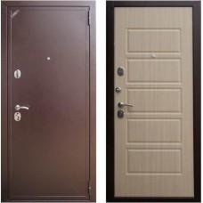 Входная металлическая дверь Персона Евро Домино (Венге светлый)