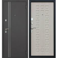 Входная металлическая дверь АСД Терморазрыв 3К Арктика (Беленый Дуб)