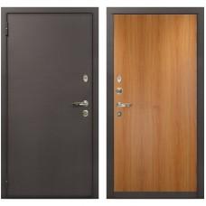 Входная металлическая дверь Лекс 1А Медный Антик (№4 Миланский орех)
